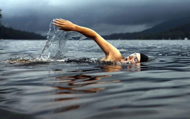 nage hivernale